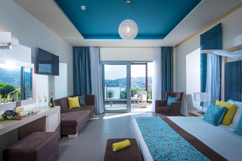 Accommodation Heraklion Agia Pelagia Crete Blue Bay